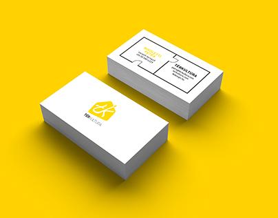 Térkultúra business card / interior architecture