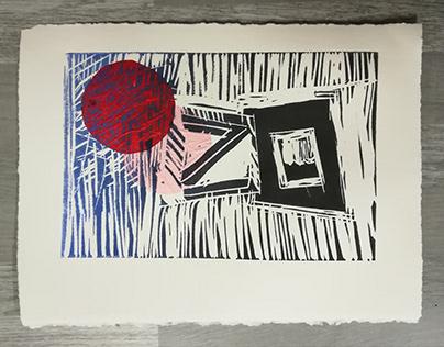 Linocut printings