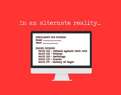 Odyssey '15 Theme: Alternate Reality