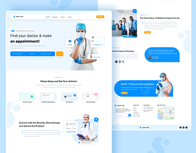Doctor Appointment Landing Page