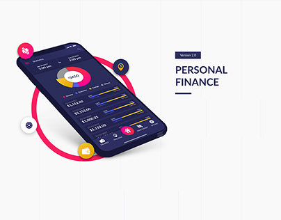 Personal finance - Adobe XD