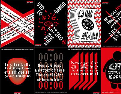 Consumerism Poster Series