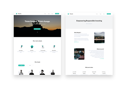 Wequity | Landing page