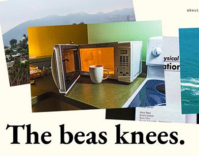 The beas knees. (Personal Website)