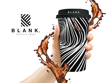 BLANK. Coffee & Toast / Branding