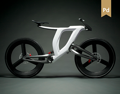 Furia - Hub Center Steering Concept Bicycle