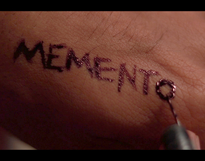 Memento(2000) Title Sequence Design
