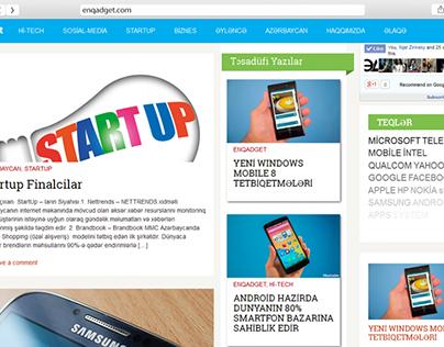 Website for tech news Enqadget.com