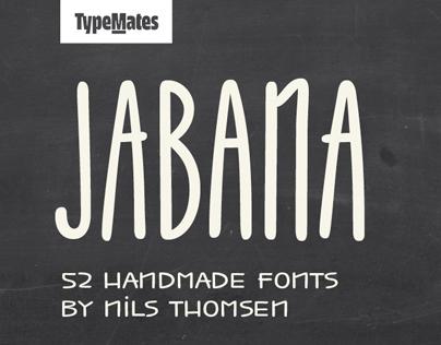 Jabana - Super Family for coffee & tea (52 fonts)