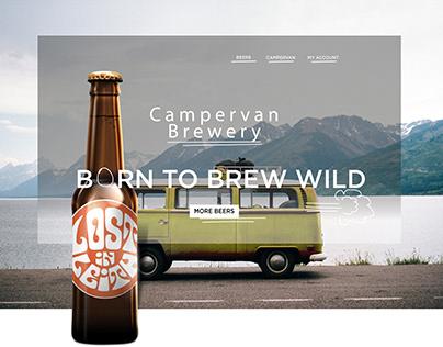 Campervan Brewery - Rebuild Website