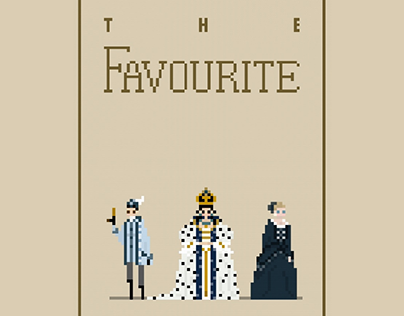 Pixel Poster, The Favourite
