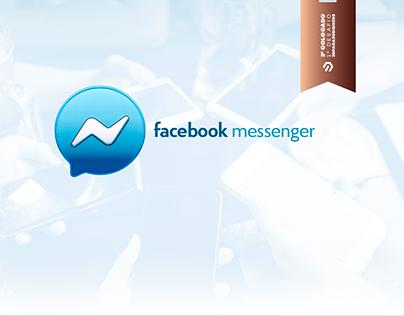 Logotipo 3D - Facebook Messenger