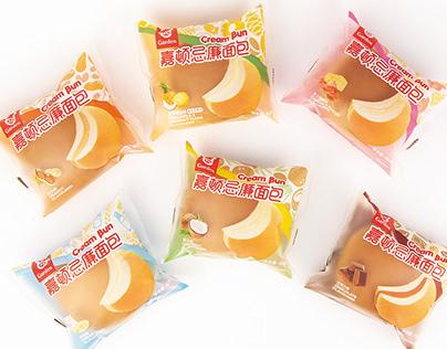 Garden - Cream Bun Packaging Design