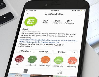 Bozell Instagram Highlight Covers