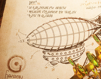 Airship and sextant