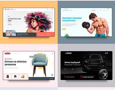 Web design 2018 - Dribbble short