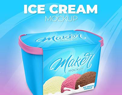 Ice Cream Mockup – Mockup Sorvete