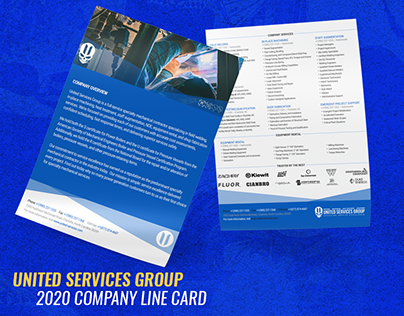 2020 United Services Group Line Card