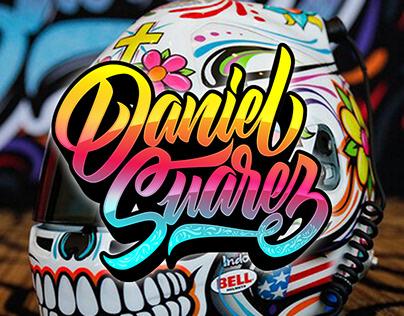 Daniel Suarez Dia De Los Muertos Helmet