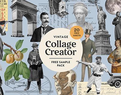 Vintage Collage Creator - Free Sampler