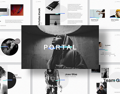 PORTAL - Keynote Presentation Template