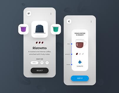 Coffee Gui App Animation (Brief)