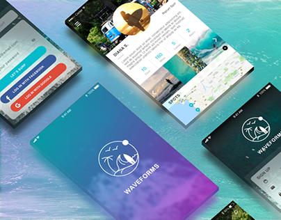 Waveforms app