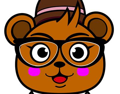 Punk Zoo Bear T-shirt design
