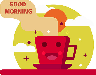 Good morning (illustration)