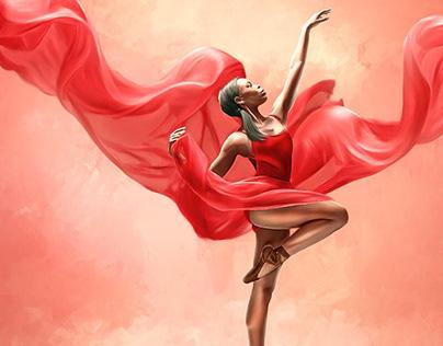 Digital Performing Art Series #1 by Wayne Flint