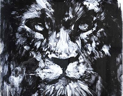 Lion (2017, plexiglass)
