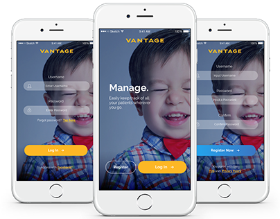 Vantage Software Design - UI/UX