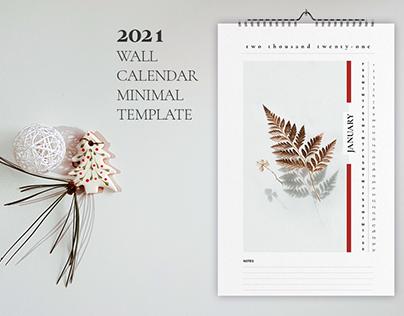 Wall Calendar 2021 Template Collections
