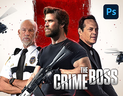 The Crime Boss - Official MENA Key Art