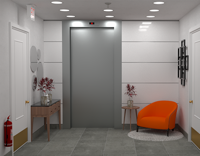 The Mayfair - Elevator Lobby