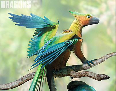 Micro Feathered Dragon