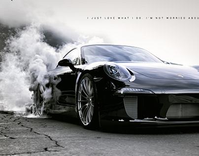 Burnout | 3d smoke simulation