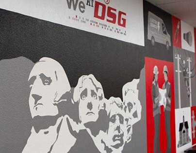 Dakota Supply Group - Mural 2020