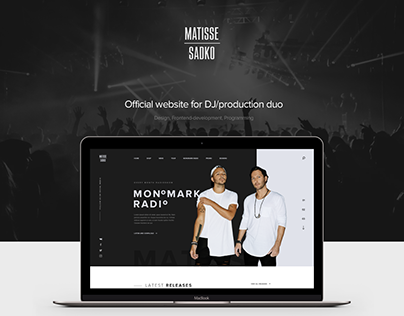 Matisse & Sadko website (v.1)