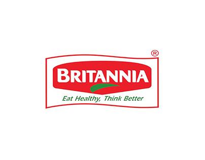 B & W Typographical Ads of Britannia