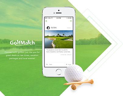 GolfMatch Website Design