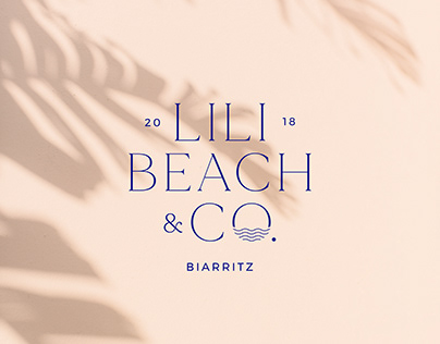 Beach restaurant branding