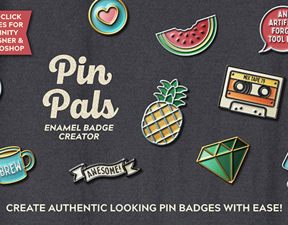 Pin Pals - Enamel Pin Badge Creator