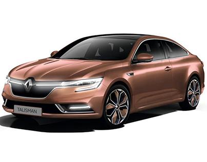 Renault Talisman Coupe Concept