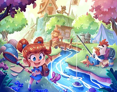 L'île de l'aventure Cover art 01
