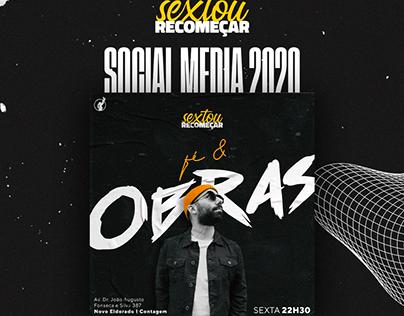 Culto de Jovens - Sextou Recomeçar // Social Media 2020