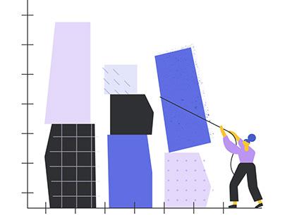 Thumbtack Illustration Brand Style