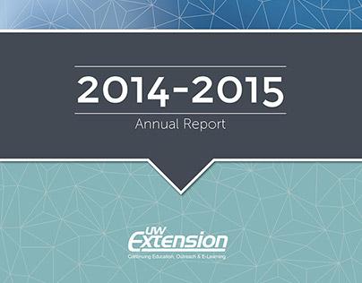 UW-Extension Continuing Education Annual Report