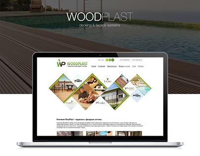 WoodPlast website re-design