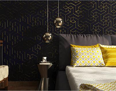 Bedroom Design_Paneling